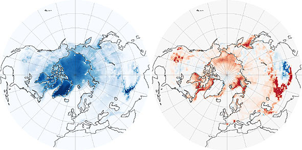 Modelled cryosphere forcing