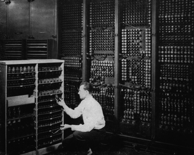 ENIAC, the first general purpose computing