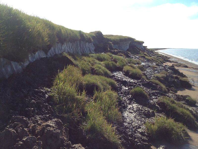 Erosion on coast lines