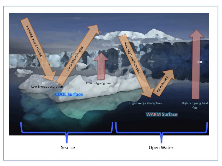 Sea Ice Energy Flux